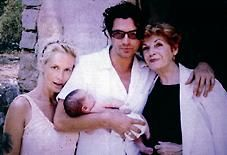 Paula Yates Michael Hutchence and