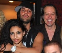 Criss Angel and Sandra Gonzalez Sandra ? and Criss Angel