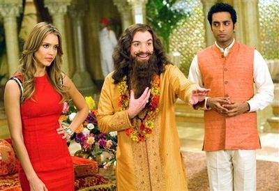 Mike Myers  - movie scene from Love Guru