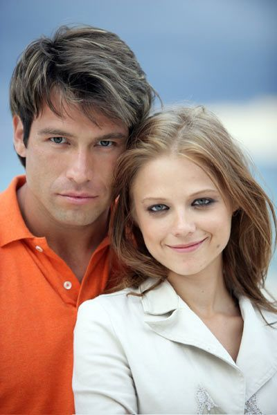 Rafael Amaya and Ana Layevska