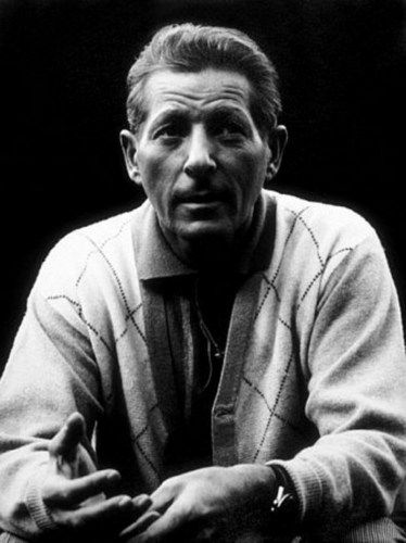 Danny Kaye  with a very serious face for a change