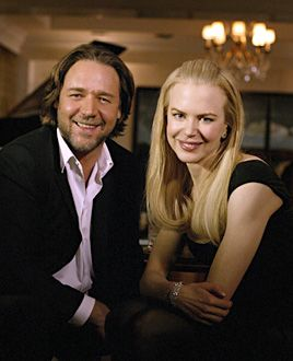 Russell Crowe  and Nicole Kidman