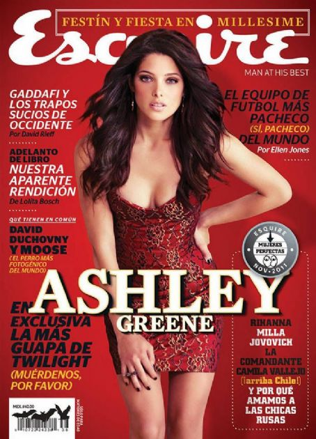 Ashley Greene Esquire Mexico November 2011
