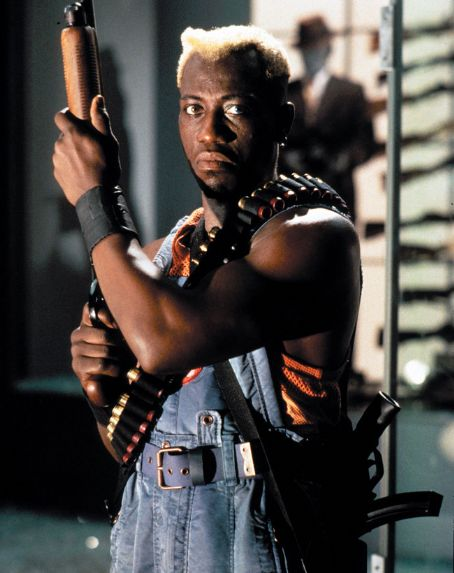 Wesley Snipes as Simon Phoenix in Demolition Man - 1993
