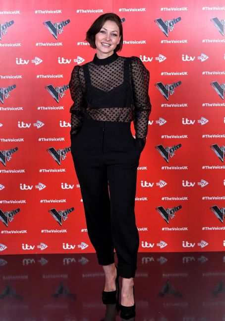 Emma Willis – Pictured at The Voice UK Photocall Series 4 in Manchester