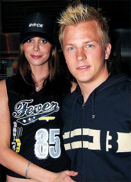 Kimi Räikkönen  and Jenni Dahlman-Räikkönen
