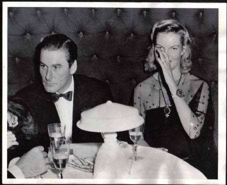 Doris Duke  and Errol Flynn
