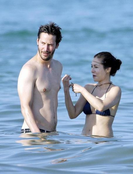 China Chow Keanu Reeves and