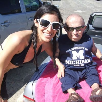 Verne Troyer Ranae Shrider and