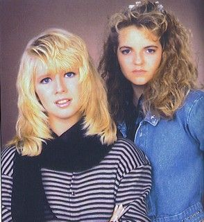Lauralee Bell Y&R co-stars  and Tricia Cast Back in the Day