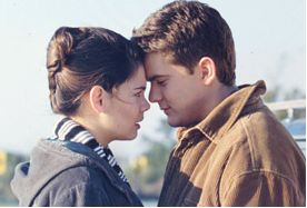 Dawson's Creek Joshua Jackson And Katie Holmes In Dawson´s Creek (1998)