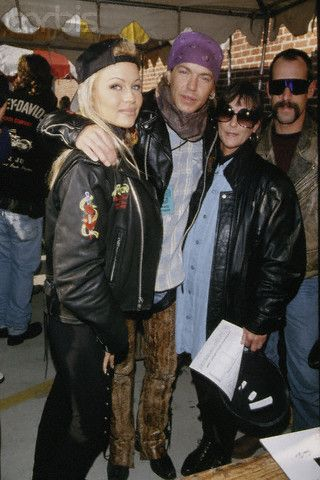 Bret Michaels  and Pamela Anderson