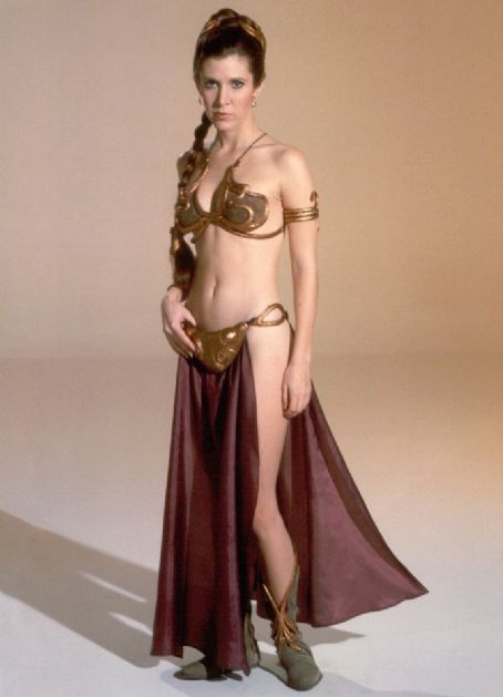 Carrie Fisher As Princess Leia In Star Wars - The Return Of Jedi (1983)