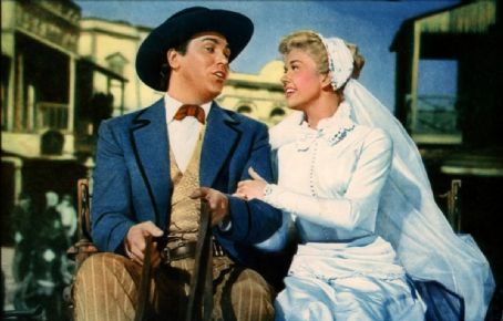 Doris Day - Doris with Howard Keel in Calamity Jane