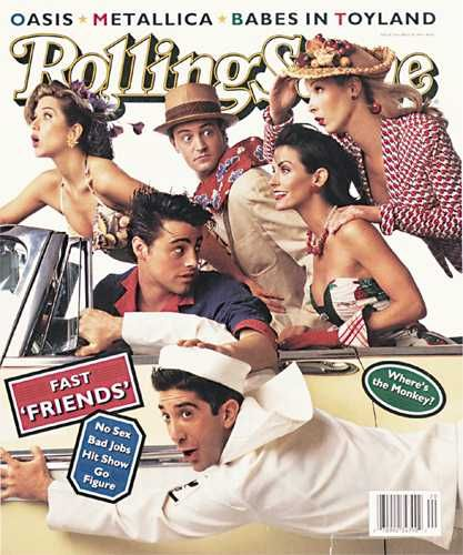 Matt LeBlanc - Rolling Stone Magazine [United States] (18 May 1995)