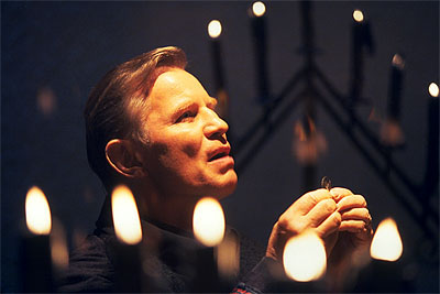 Megiddo: The Omega Code 2 Michael York as Stone Alexander in 8X Entertainment's Megiddo - 2001