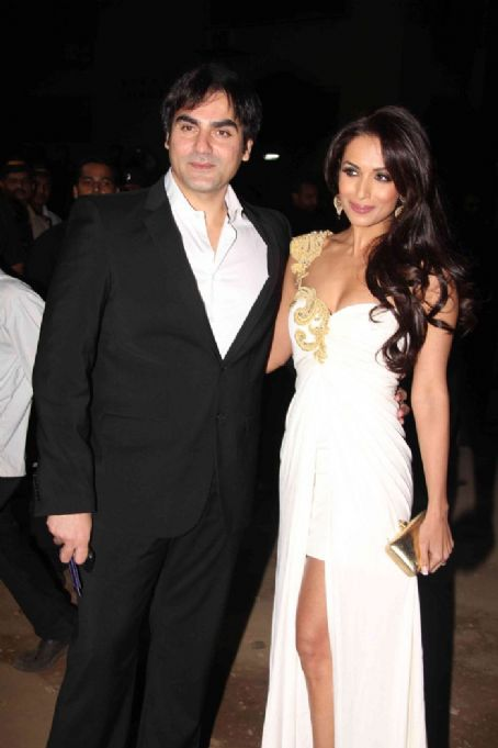 Arbaaz Khan Malaika and  At 56th Filmfare Awards 2011