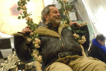 Terry Gilliam . Photo taken by Liam Daniel, Courtesy of Sony Pictures Classics