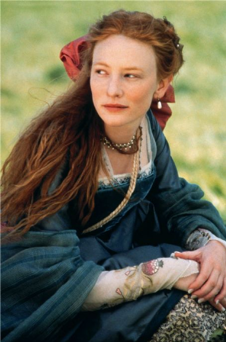 Elizabeth Cate Blanchett as  - The Virgin Queen.