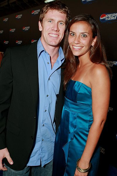 Carl Edwards  and Kate Downey