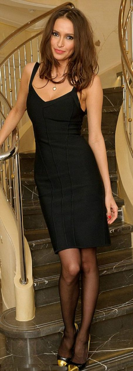 Sasha Volkova attends a dinner hosted by Mark Fast at Corinthia Hotel London on February 7, 2012 in London, England