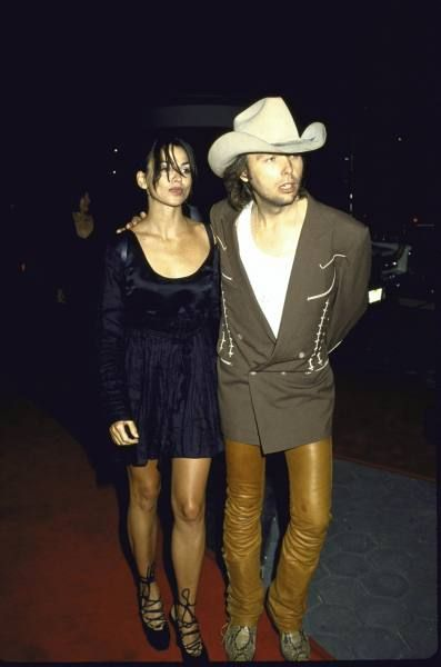 Dwight Yoakam  and Karen Duffy