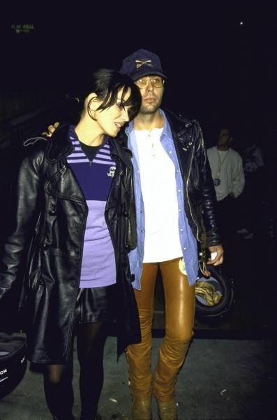 Dwight Yoakam  and Karen Duffy