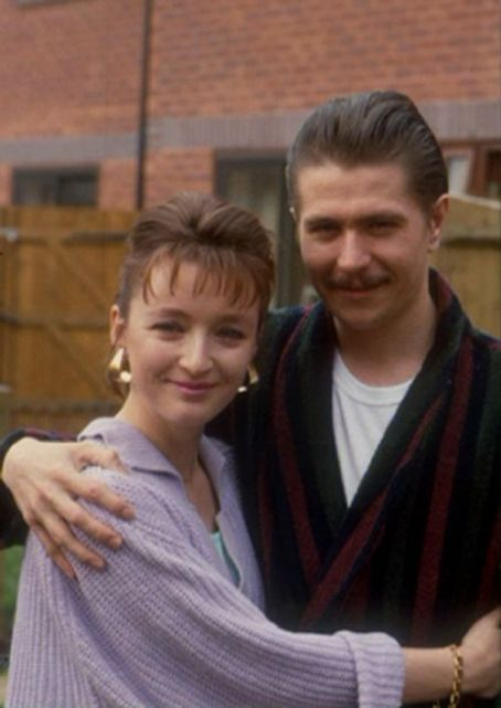 Lesley Manville Gary Oldman and  working together in THE FIRM!