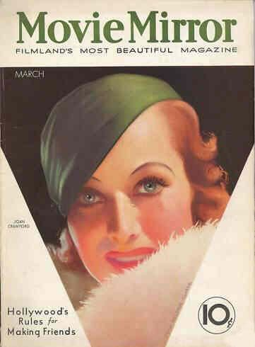 Joan Crawford - Movie Mirror Magazine [United States] (March 1933)