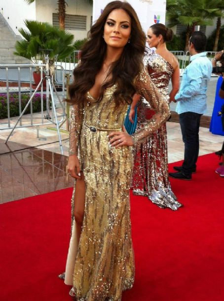 Jimena Navarrete: TV y Novelas Awards 2012