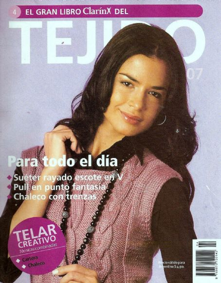 Natalia Botti - Tejido Magazine Cover [Argentina] (April 2007)