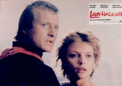 Rutger Hauer Michelle Pfeiffer and  in LadyHawke (1985)