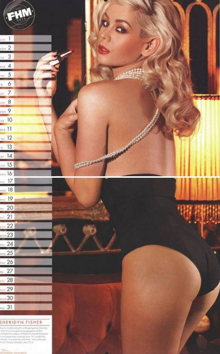 Sheridyn Fisher FHM Australia Calendar 2011 – Full Images