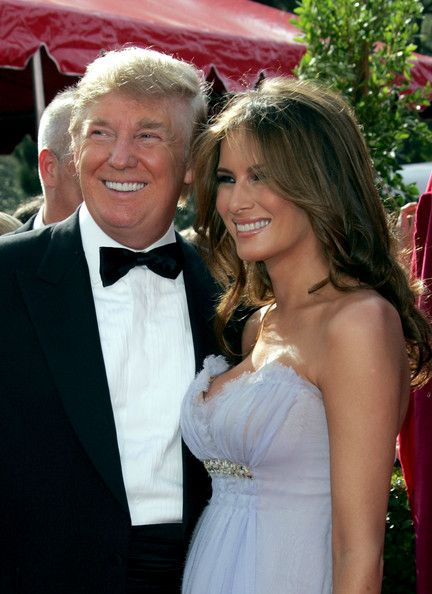 Donald Trump  and Melania Knauss-Trump