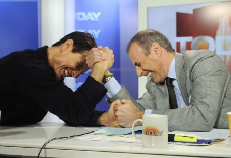 Matt Lauer  & Tom Cruise on Today Show, Dec 15, 2008