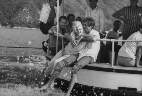 Sue Lyon  and Hampton Fancher