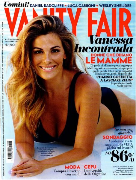 Vanessa Incontrada Vanity Fair Italy July 2011