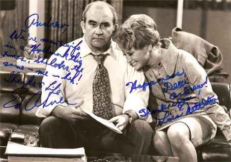Lois Nettleton  With Ed Asner