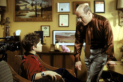Alex D. Linz  and Larry Miller in Disney's Max Keeble's Big Move - 2001
