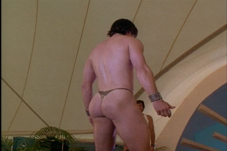 Exit to Eden Paul Mercurio in his Thong