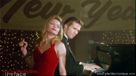 Jeff Bridges  and Michelle Pfeiffer in The Fabulous Baker Boys (1989).