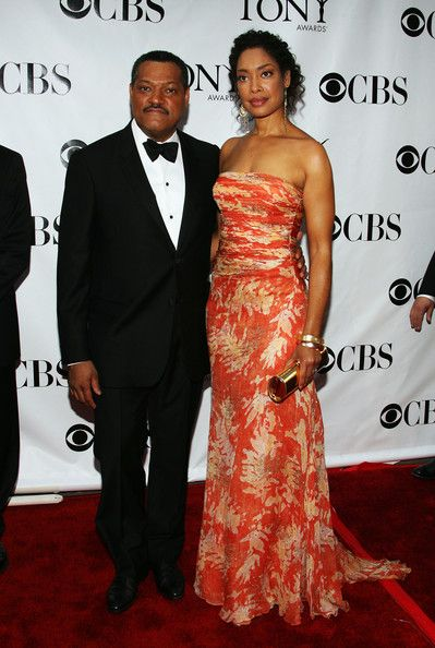 Laurence Fishburne Gina Torres and