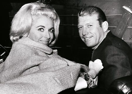 Mickey Mantle Mickey with wife Merlyn