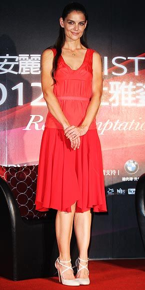 Katie Holmes: Artistry on Ice event in Taipei
