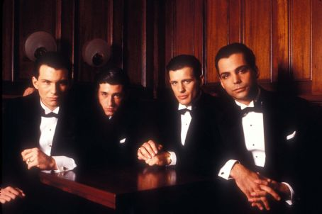 Costas Mandylor Christian Slater,Patrick Dempsey,  and Richard Grieco in Mobster (1991)