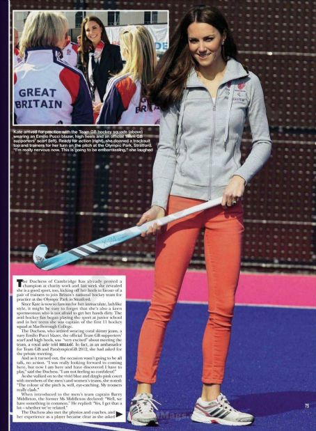 Kate Middleton Hello Magazine UK March 2012