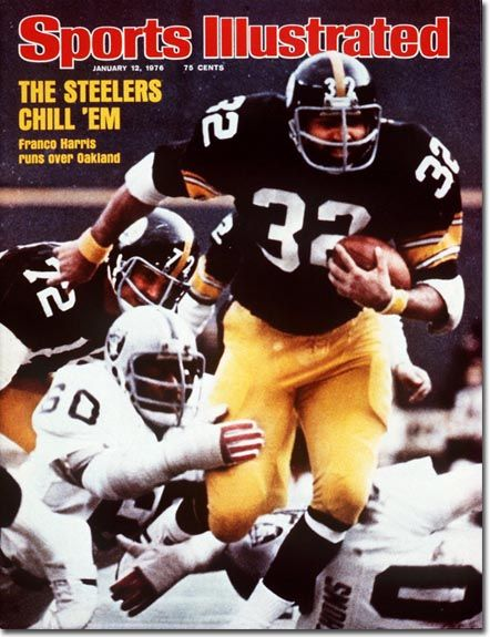 Franco Harris  Jan. 12 1976