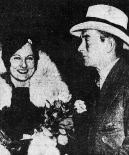 Betty Compton  and Jimmy Walker