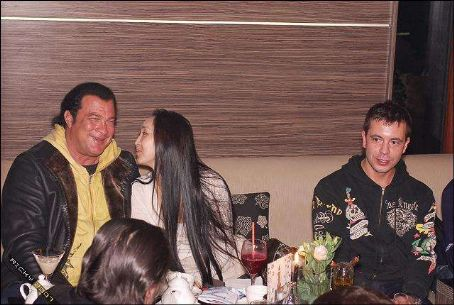 Erdenetuya Batsukh Steven Seagal and