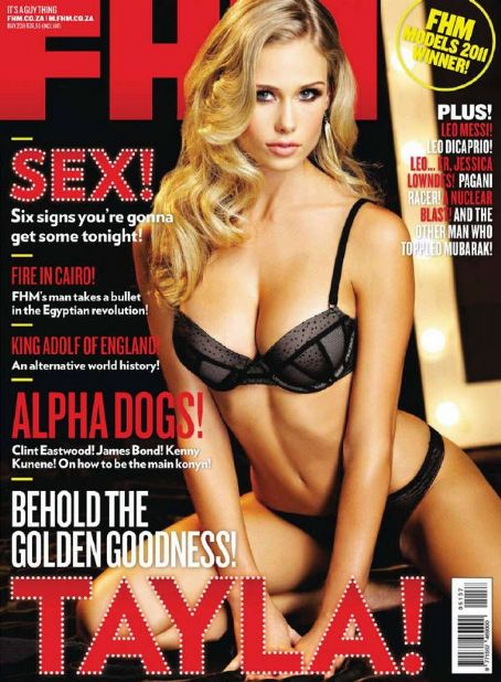 Tayla Davis  - FHM Magazine Pictorial [South Africa] (May 2011)